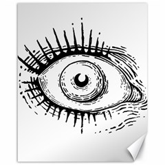 Big Eye Monster Canvas 16  X 20