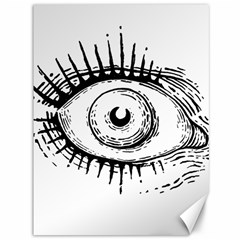 Big Eye Monster Canvas 36  X 48