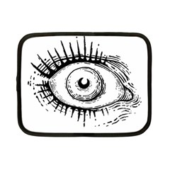 Big Eye Monster Netbook Case (small)