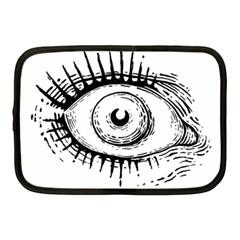 Big Eye Monster Netbook Case (medium)