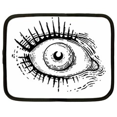 Big Eye Monster Netbook Case (large)