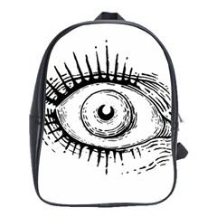 Big Eye Monster School Bag (large)