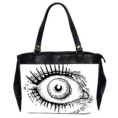 Big Eye Monster Office Handbags (2 Sides)