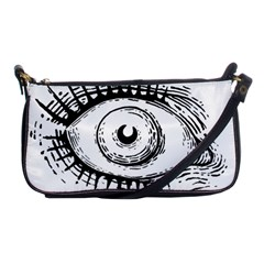 Big Eye Monster Shoulder Clutch Bags
