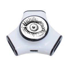 Big Eye Monster 3 Port Usb Hub