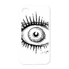 Big Eye Monster Apple Iphone 4 Case (white)