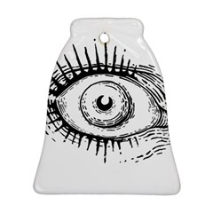 Big Eye Monster Bell Ornament (two Sides)