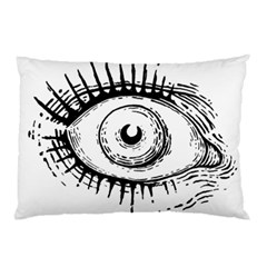 Big Eye Monster Pillow Case (two Sides)