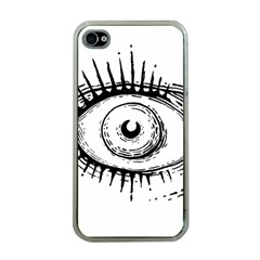 Big Eye Monster Apple Iphone 4 Case (clear)
