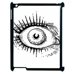 Big Eye Monster Apple Ipad 2 Case (black)