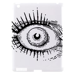 Big Eye Monster Apple Ipad 3/4 Hardshell Case (compatible With Smart Cover)