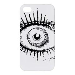 Big Eye Monster Apple Iphone 4/4s Premium Hardshell Case