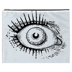 Big Eye Monster Cosmetic Bag (xxxl)