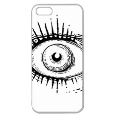 Big Eye Monster Apple Seamless Iphone 5 Case (clear)