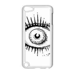 Big Eye Monster Apple Ipod Touch 5 Case (white)