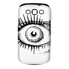 Big Eye Monster Samsung Galaxy S Iii Classic Hardshell Case (pc+silicone)