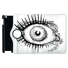 Big Eye Monster Apple Ipad 3/4 Flip 360 Case