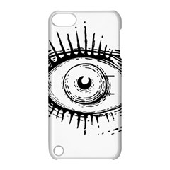 Big Eye Monster Apple Ipod Touch 5 Hardshell Case With Stand