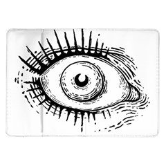 Big Eye Monster Samsung Galaxy Tab 10 1  P7500 Flip Case