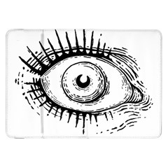 Big Eye Monster Samsung Galaxy Tab 8 9  P7300 Flip Case