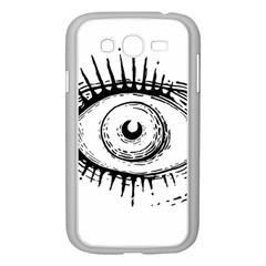 Big Eye Monster Samsung Galaxy Grand Duos I9082 Case (white)
