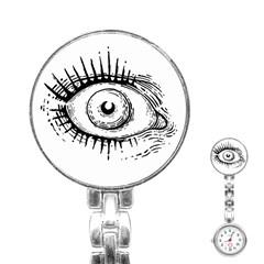 Big Eye Monster Stainless Steel Nurses Watch