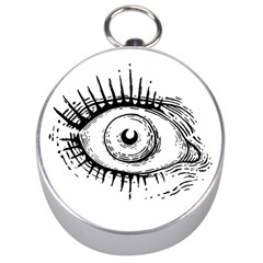 Big Eye Monster Silver Compasses