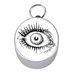 Big Eye Monster Mini Silver Compasses