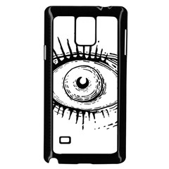 Big Eye Monster Samsung Galaxy Note 4 Case (black)