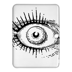 Big Eye Monster Samsung Galaxy Tab 4 (10 1 ) Hardshell Case