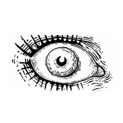 Big Eye Monster Satin Wrap
