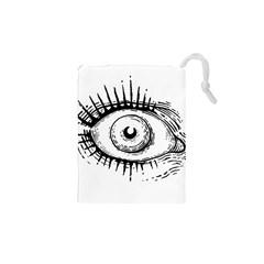 Big Eye Monster Drawstring Pouches (xs)