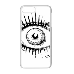 Big Eye Monster Apple Iphone 7 Plus Seamless Case (white)