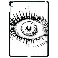 Big Eye Monster Apple Ipad Pro 9 7   Black Seamless Case
