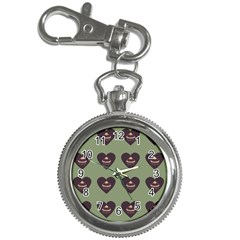Cupcake Green Key Chain Watches