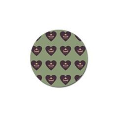 Cupcake Green Golf Ball Marker (10 Pack)
