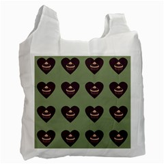 Cupcake Green Recycle Bag (two Side)