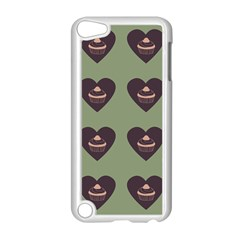 Cupcake Green Apple Ipod Touch 5 Case (white)