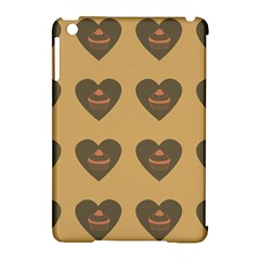 Cupcake Pumpkin Orange Grey Apple Ipad Mini Hardshell Case (compatible With Smart Cover)