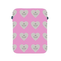 Cupcake Pink Grey Apple Ipad 2/3/4 Protective Soft Cases