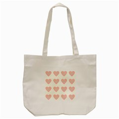 Cupcake White Pink Tote Bag (cream)