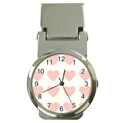 Cupcake White Pink Money Clip Watches