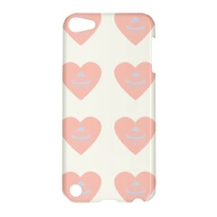 Cupcake White Pink Apple Ipod Touch 5 Hardshell Case