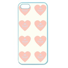 Cupcake White Pink Apple Seamless Iphone 5 Case (color)