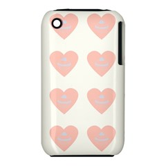 Cupcake White Pink Iphone 3s/3gs