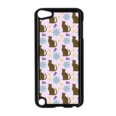 Outside Brown Cats Apple Ipod Touch 5 Case (black)