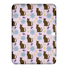 Outside Brown Cats Samsung Galaxy Tab 4 (10 1 ) Hardshell Case