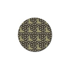 Charcoal Boots Golf Ball Marker (4 Pack)