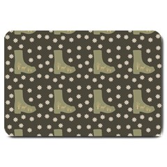 Charcoal Boots Large Doormat