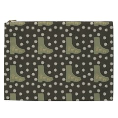 Charcoal Boots Cosmetic Bag (xxl)